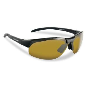 29a7545116b Maverick Polarized Sunglasses in Black Frame with Yellow Amber Lens. Flying  Fisherman ...