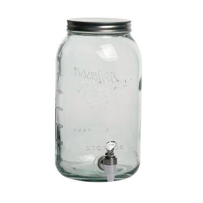Serving 8.4 Qt. Clear Drink Dispenser With Spout And Lid