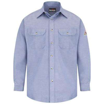 EXCEL FR ComforTouch Men's 3X-Large Chambray Uniform Shirt