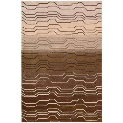 Contour Natural 5 ft. x 7 ft. 6 in. Area Rug