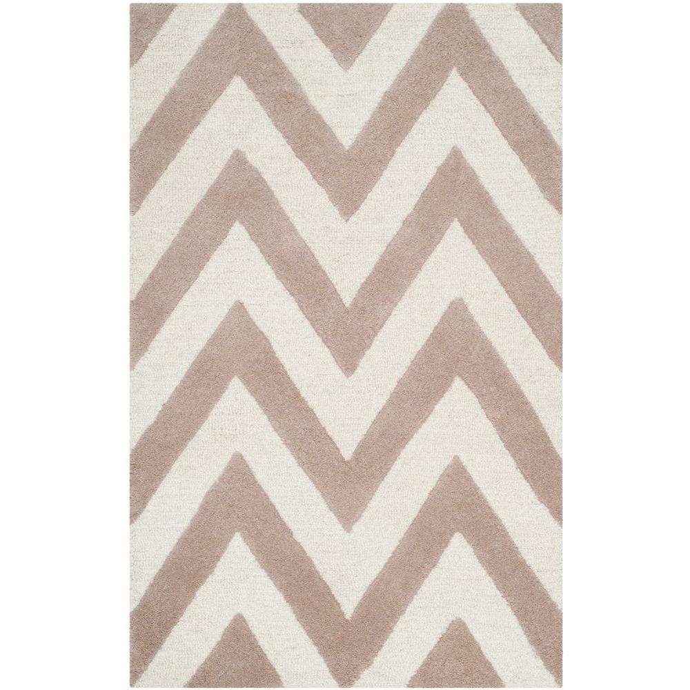 Cambridge Beige/Ivory 2 ft. x 3 ft. Area Rug