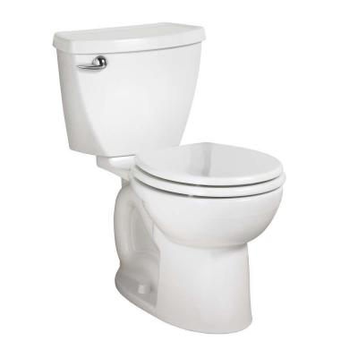 Cadet 3 Powerwash Tall Height 10 in. Rough 2-Piece 1.6 GPF Single Flush Round Toilet in White, Seat Not Included