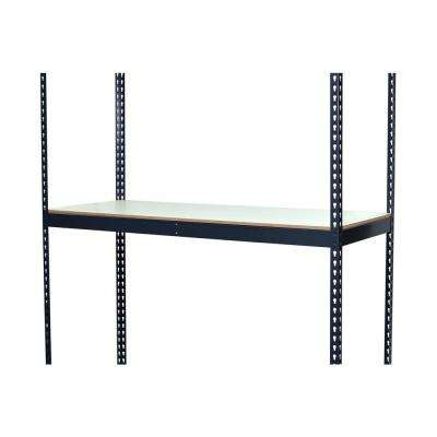 3-1/4 in. H x 60 in. W x 24 in. D Extra Shelf for Bulk Storage Boltless Shelving with Double Rivet and Laminate Board