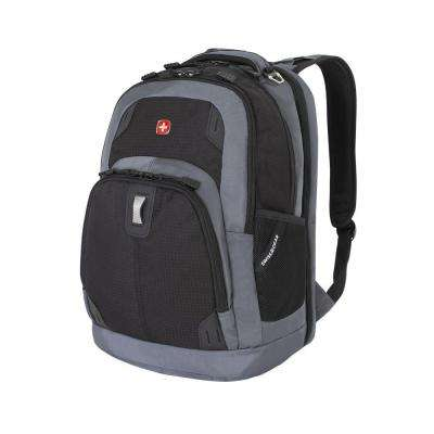 18 in. Black and Grey ScanSmart Backpack
