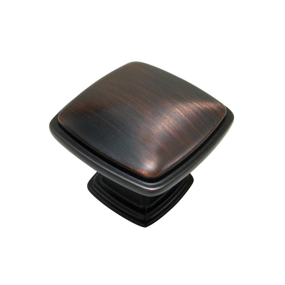 Richelieu Hardware 1-1/8 in. Oil-Rubbed Bronze Knob