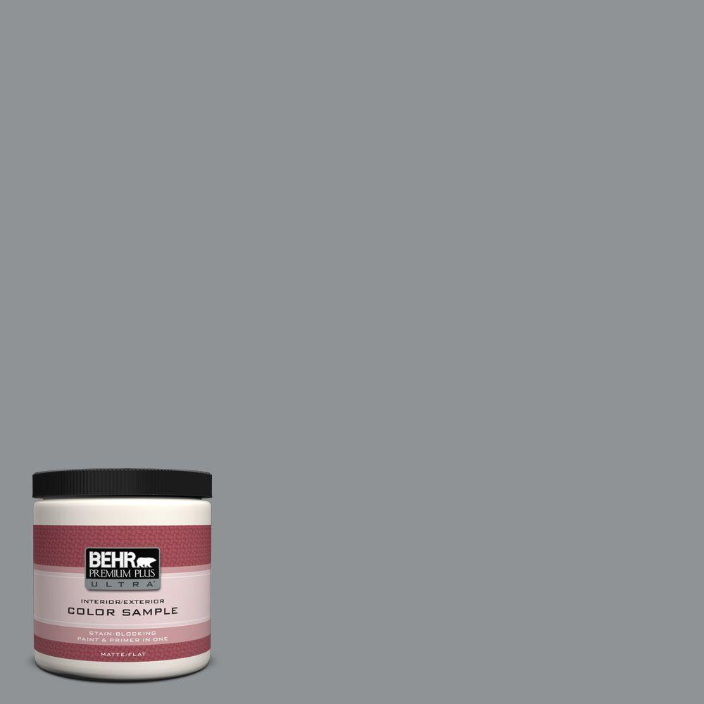 8 oz. #770F-4 Gray Area Interior/Exterior Paint Sample