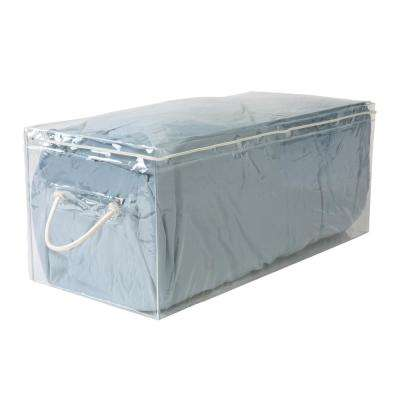 Blanket size 24 in. x 12 in. x 10 in. Crystal Clear Storage Bag