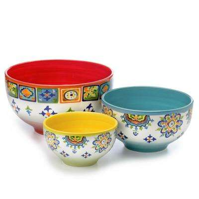 Mumbai 3-Piece Mixing Bowl Set