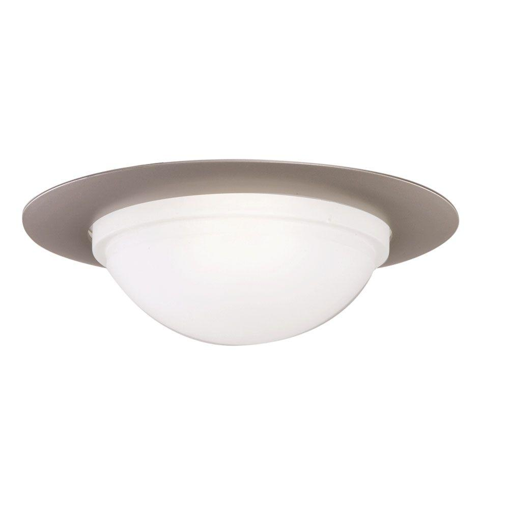 Halo 6 in satin nickel recessed ceiling light metal baffle trim 172 series 6 in tuscan bronze recessed ceiling light dome trim mozeypictures