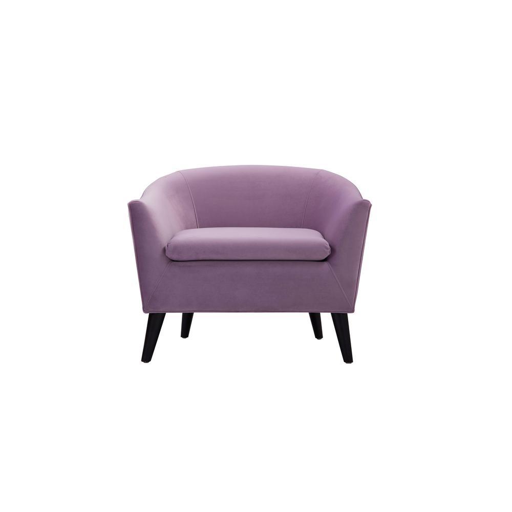 Gentil Jennifer Taylor Lia Lavender Barrel Chair