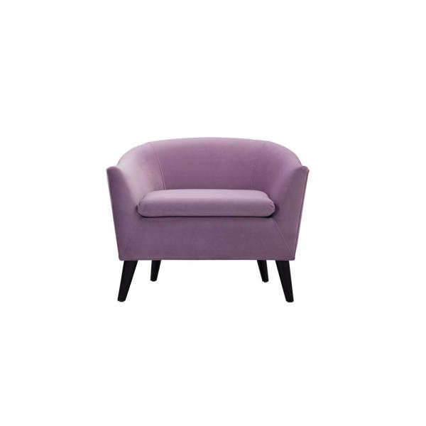 Jennifer Taylor Lia Lavender Barrel Chair 63320-1-952