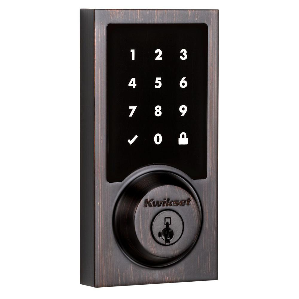Kwikset Z Wave Smartcode 916 Touchscreen Contemporary