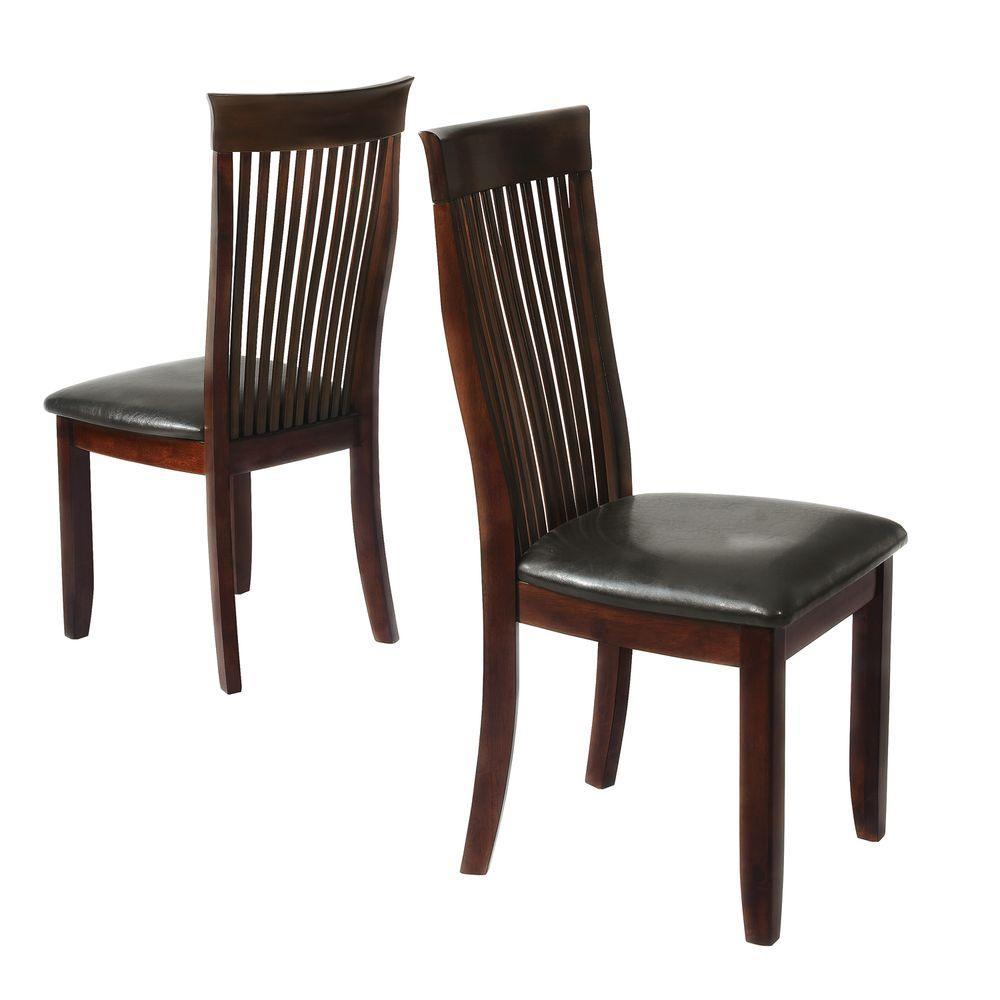 HomeSullivan Hillside Weathered Chestnut Side Chair-DISCONTINUED