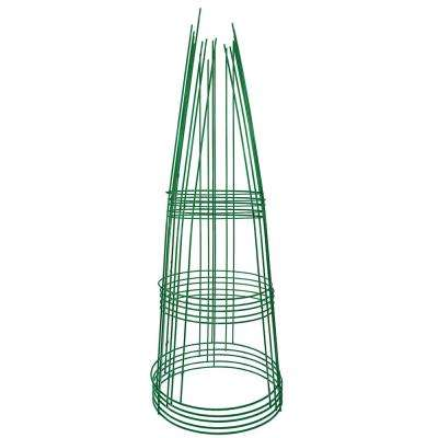 42 in. Heavy-Duty Green Tomato Cage (5-Pack)