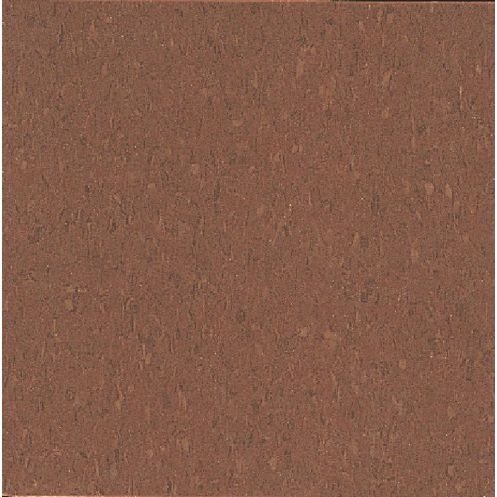 Imperial Texture VCT 12 in. x 12 in. Cinnamon Brown Standard