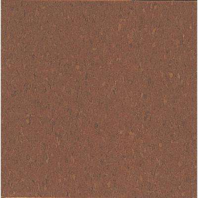 Imperial Texture VCT 12 in. x 12 in. Cinnamon Brown Standard Excelon Commercial Vinyl Tile (45 sq. ft. / case)