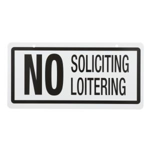 Lynch Sign 14 in  x 10 in  Shoplifting is Stealing Sign Printed on