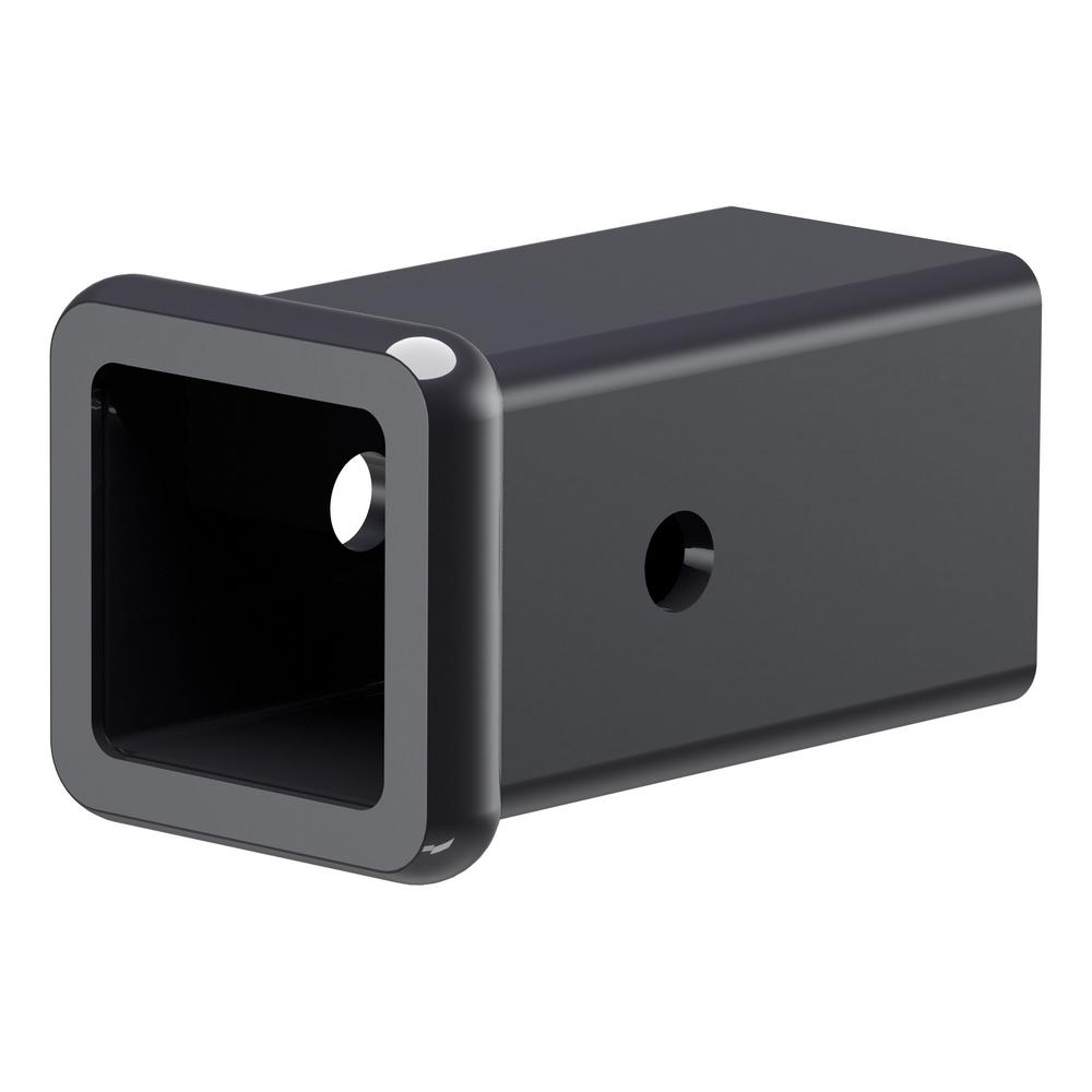 CURT 45780 Trailer Hitch Adapter 2-Inch to 1-1//4-Inch GTW Accepts 1-1//4-Inch Ball Mount Shank Extends Receiver 15-Inch Fits 2-Inch Receiver 3,500 lbs