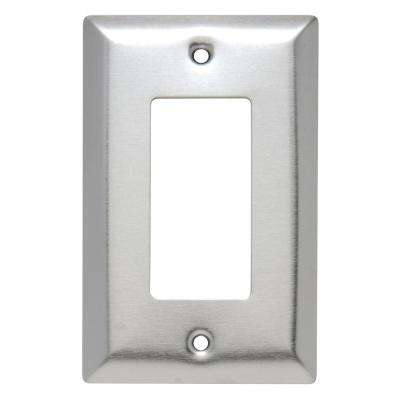 Stainless Steel Switch Plates Wall Plates The Home Depot