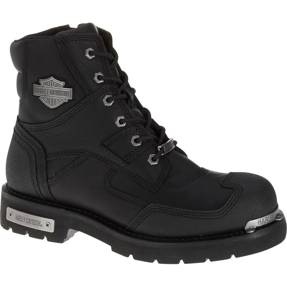 9ee156b8566 Harley-Davidson Zak Men's 8.0 W Black Steel Toe Boot