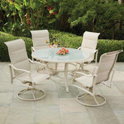 Statesville Shell 5-Piece Aluminum Outdoor Dining Set
