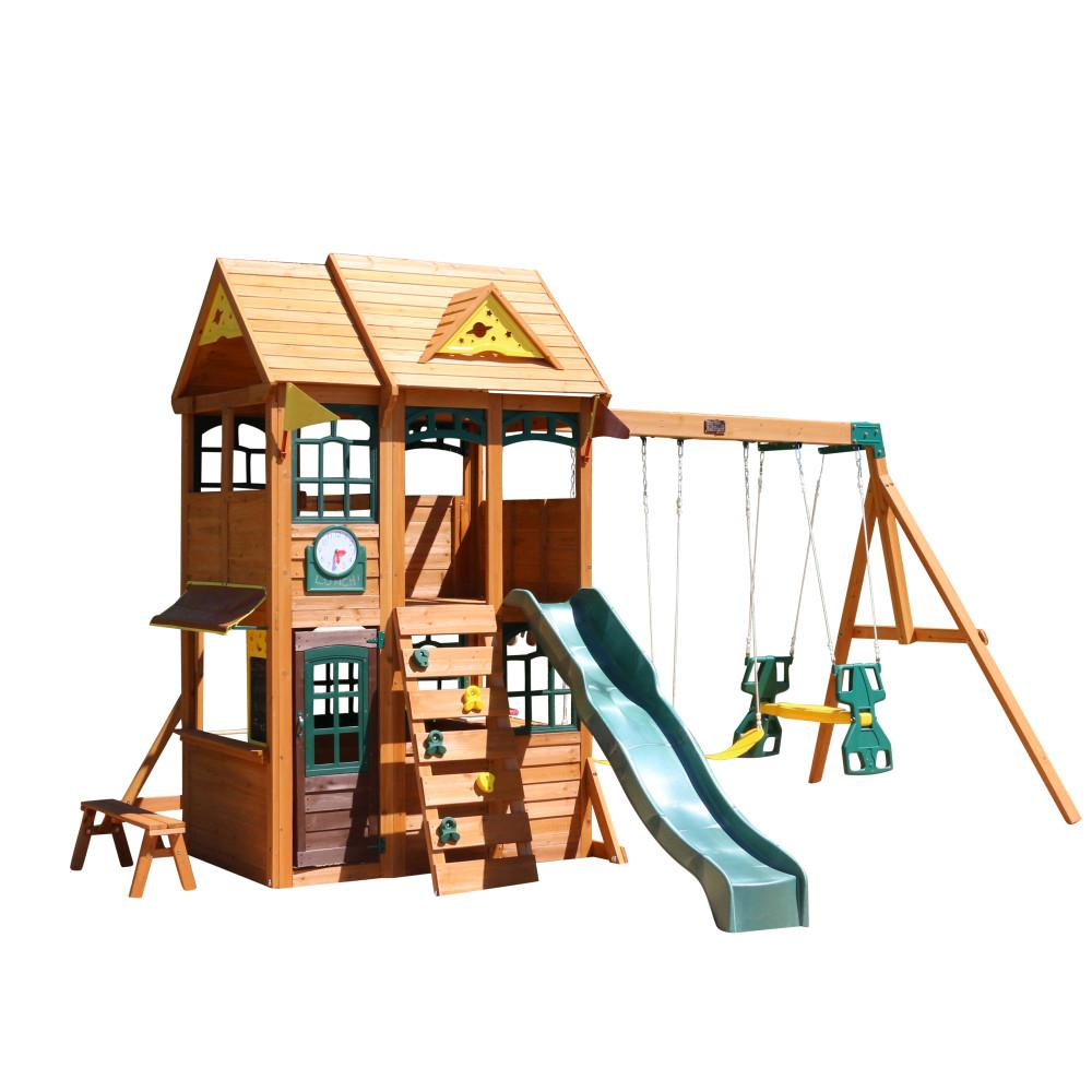 Kidkraft Meadowbrook Wooden Playset F24920 The Home Depot
