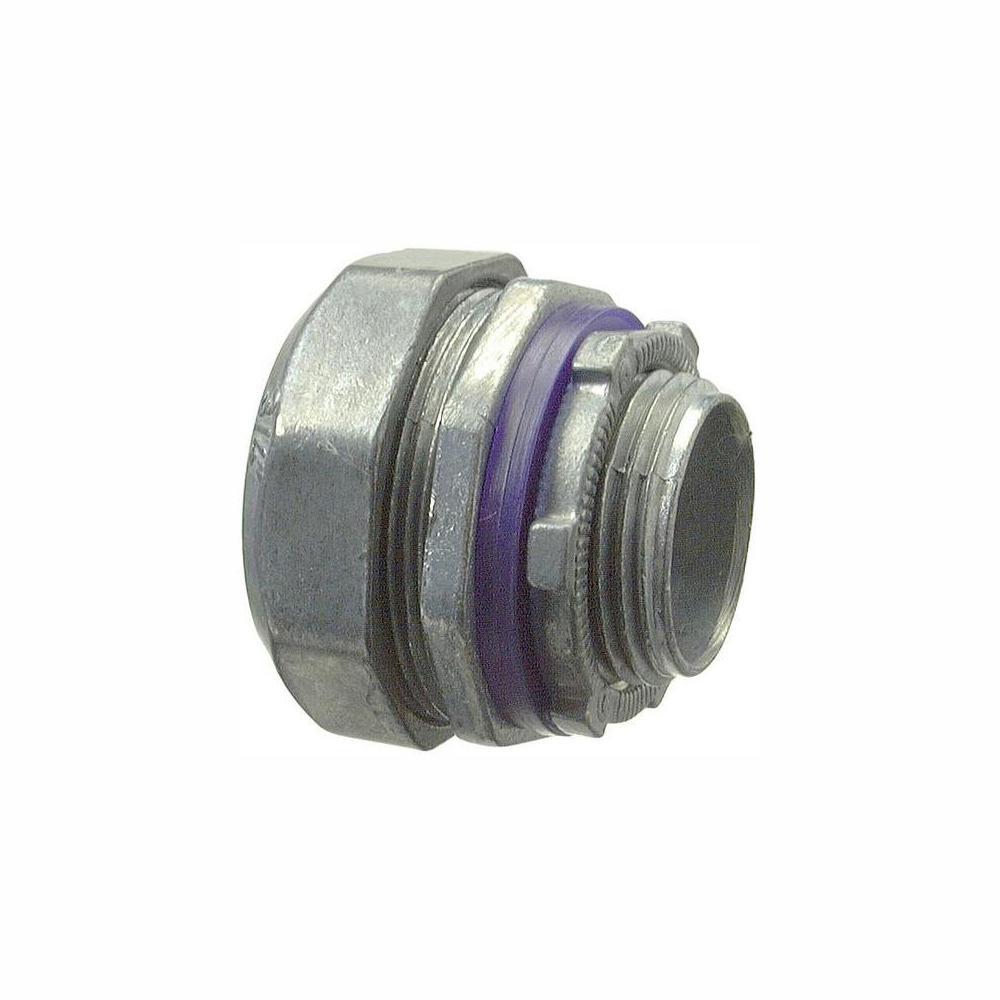 1/2 in. Liquid-Tight Connectors (25-Pack)