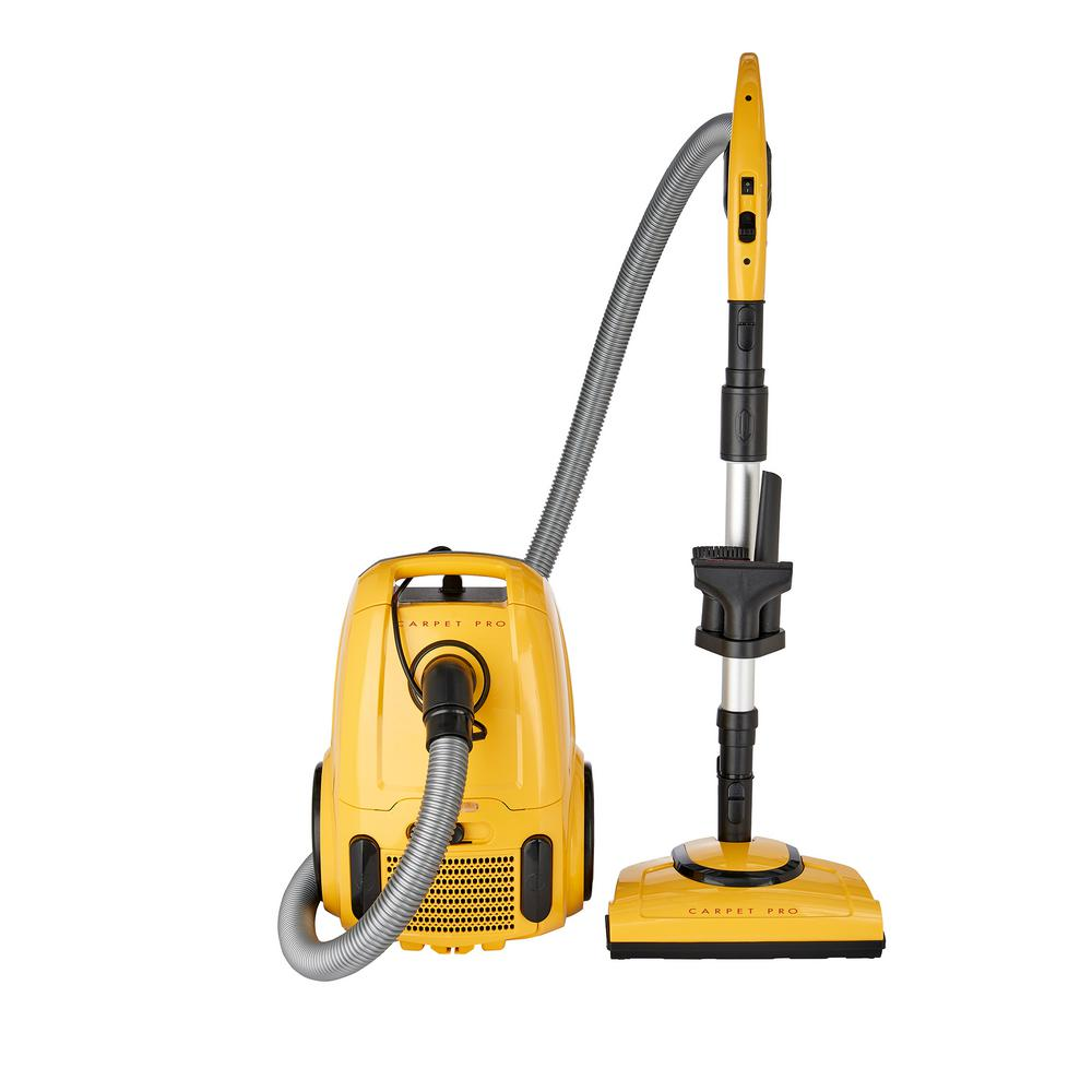 Carpet Pro Household Power Team Canister Vacuum Cpc P