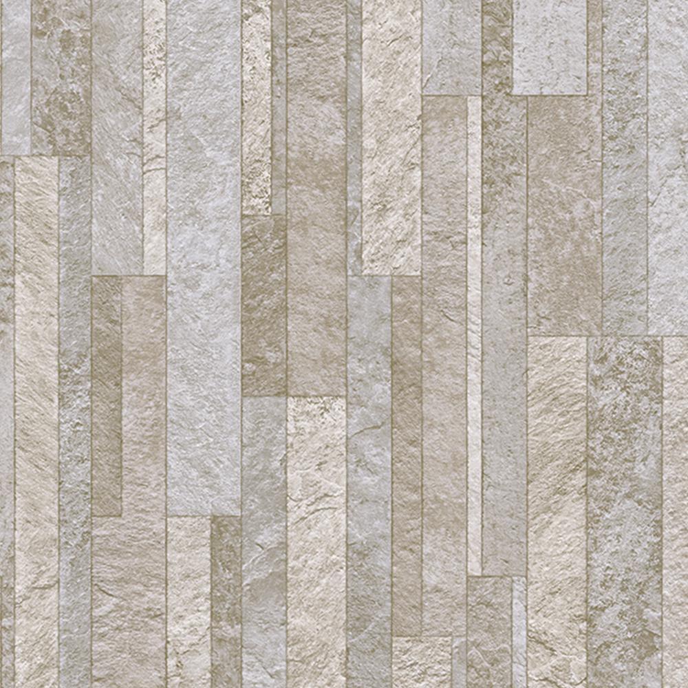 take home sample broken slate neutral vinyl sheet 6
