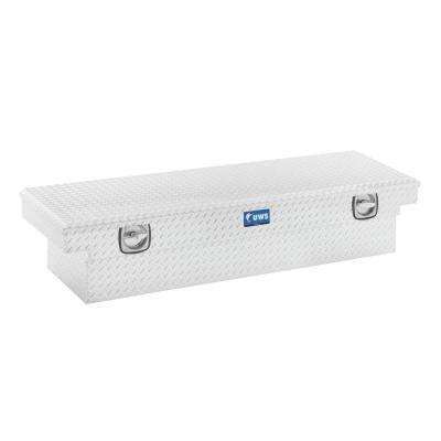 69 in. Aluminum Single Lid Secure Lock Low Profile Crossover Toolbox
