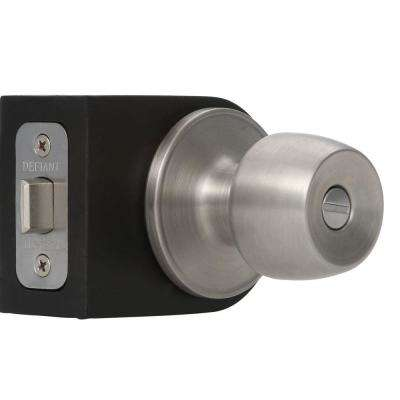 Brandywine Stainless Steel Privacy Bed/Bath Door Knob