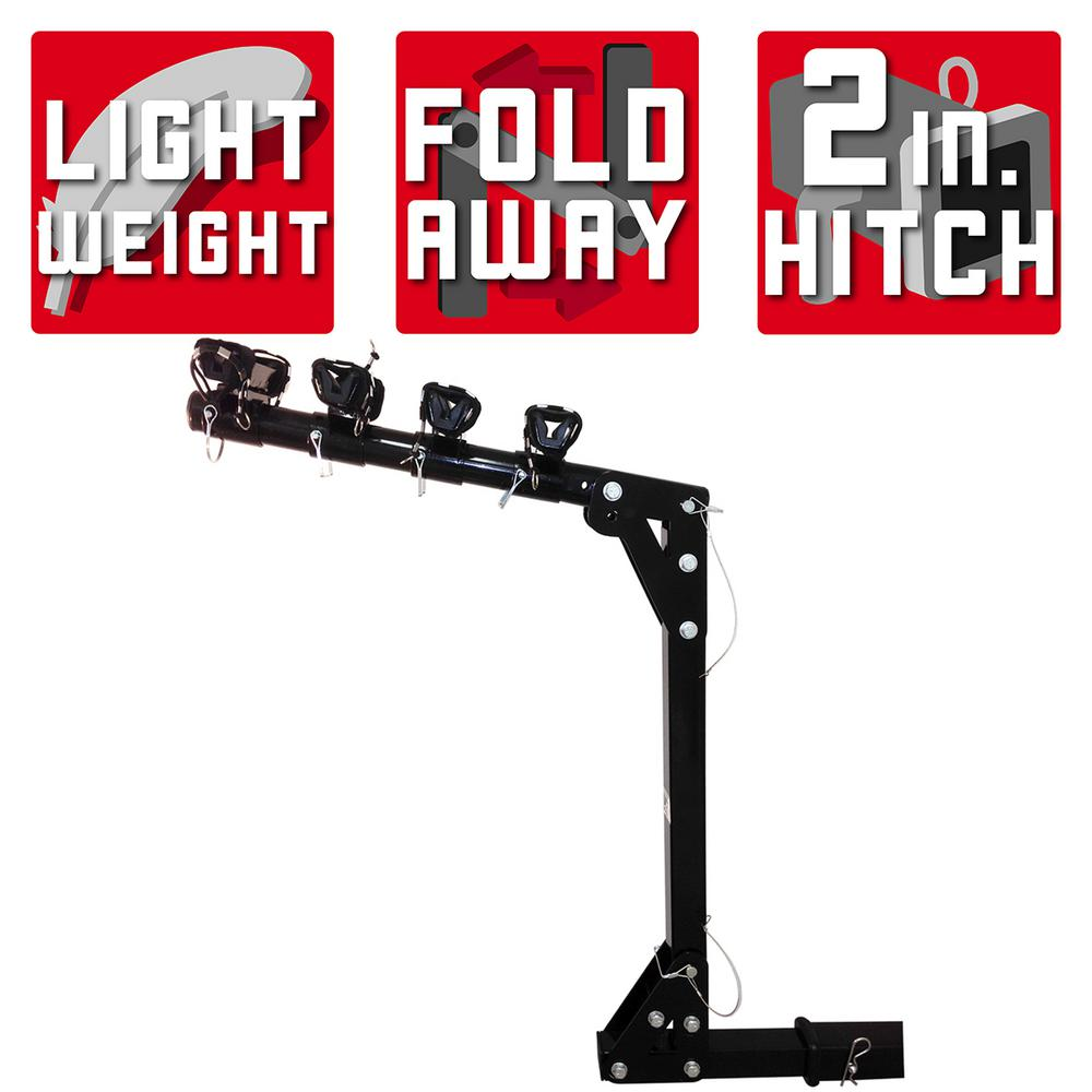 Detail K2 100 lb. Capacity Hitch Mounted Bike Rack