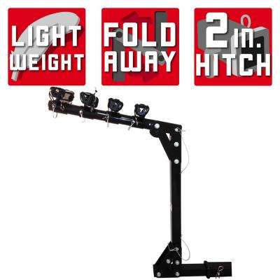 100 lb. Capacity Hitch Mounted Bike Rack