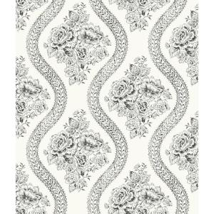 Magnolia Home by Joanna Gaines 56 sq. ft. Coverlet Floral Removable Wallpaper by Magnolia Home by Joanna Gaines