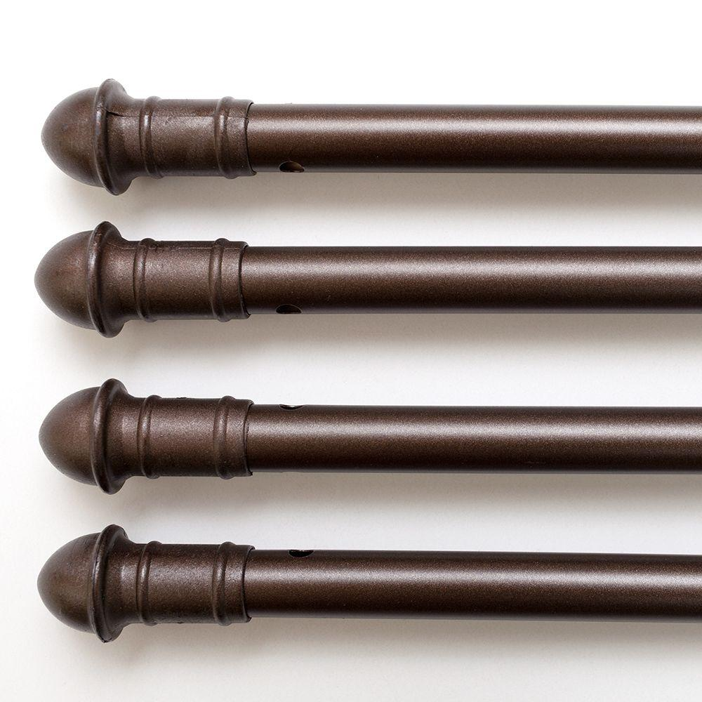 natco 30 in bronze stair rods sr31 4 the home depot rh homedepot com