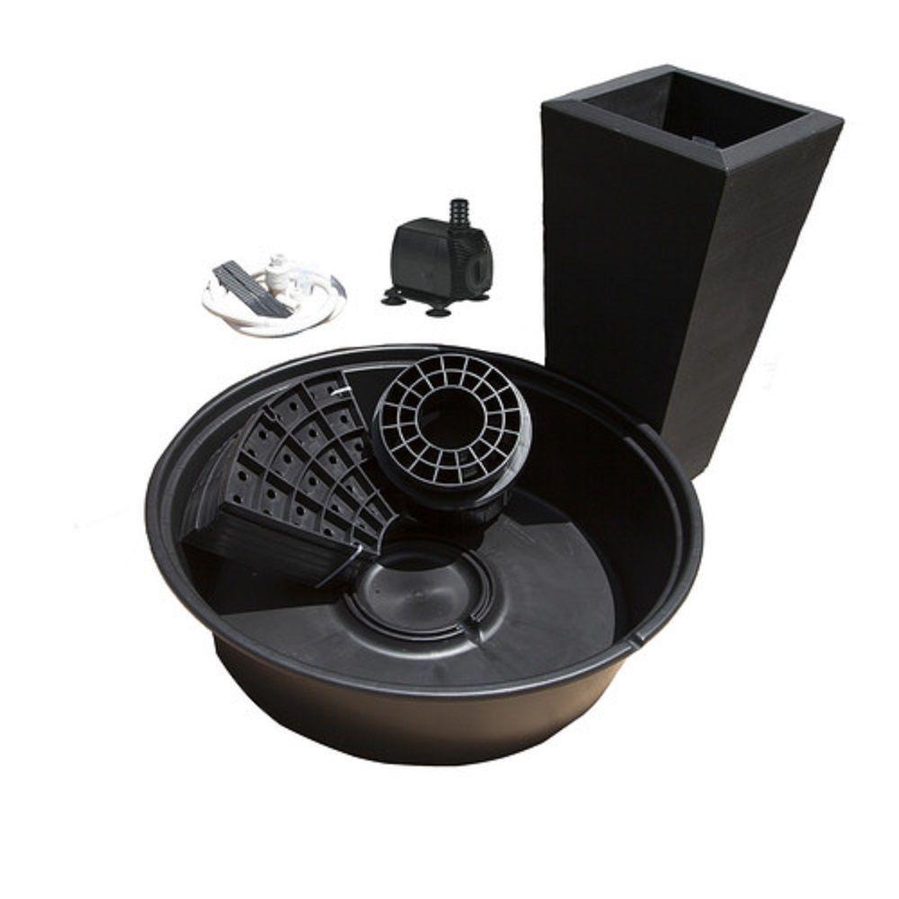 PFK Caviar Black Papyrus Fountain Kit