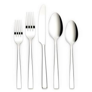 Kathryn 20-Piece Silver 18/0 Stainless Steel Flatware Set (Service for 4)