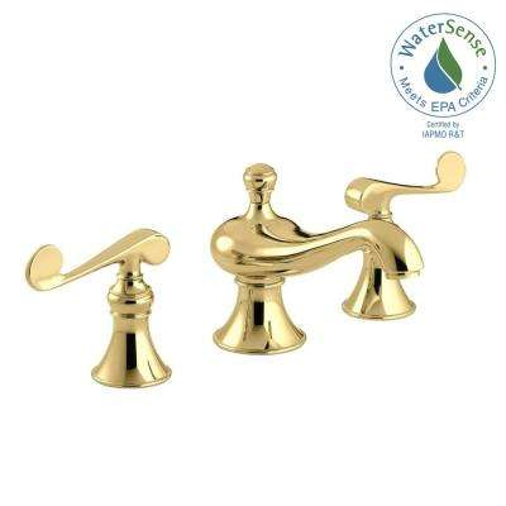 KOHLER - Lever - Brass - Bathroom Faucets - Bath - The Home Depot