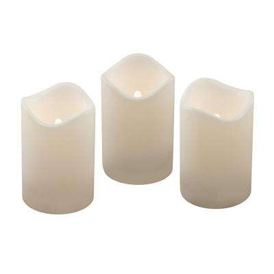 4.5 in. Pillar LED Candle (Set of 3)