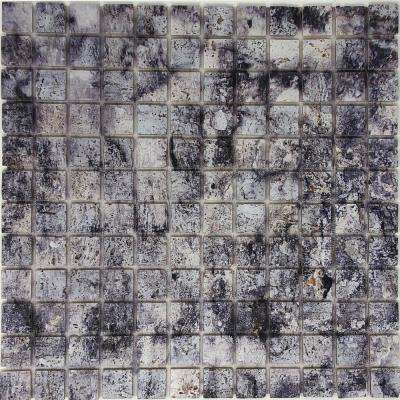 12 in. x 12 in. Natural Stone Peel and Stick Mosaic Tile (8 sq. ft. /case)