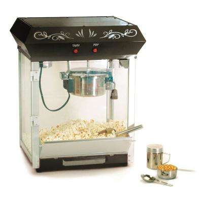 6 oz. Black Kettle Tabletop Popcorn Maker
