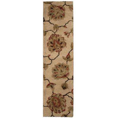 Como Bisque 2 ft. x 7 ft. Runner Rug