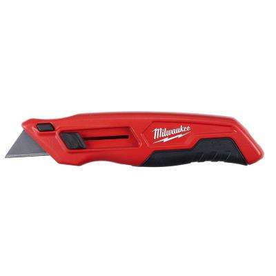Slide-Out Utility Knife with General Purpose Blade Storage