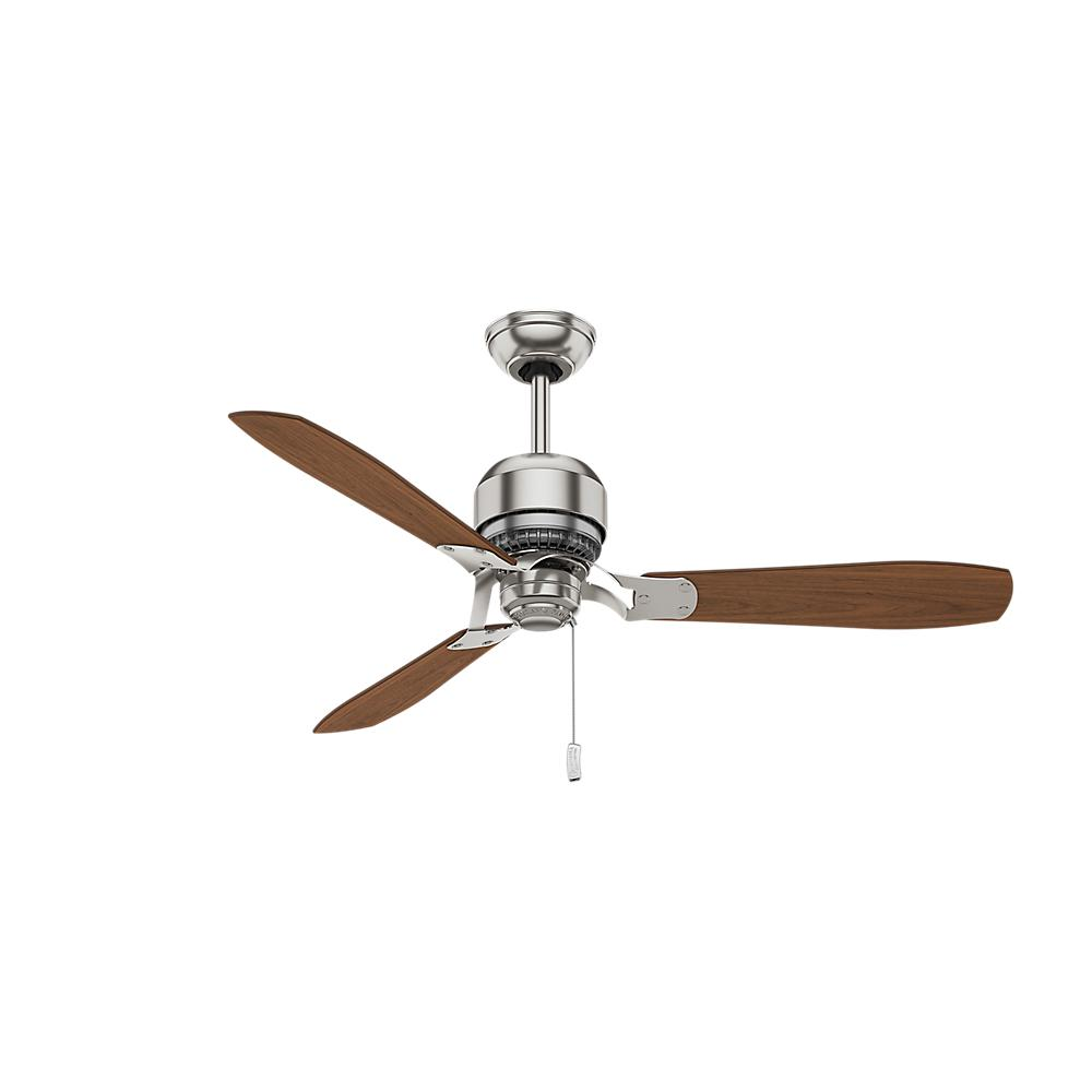 Progress Lighting Airpro Builder 52 In Indoor Brushed Nickel Wiring Diagram Ceiling Fan Without Light