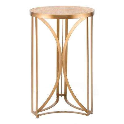 Spinner Gold Large Table