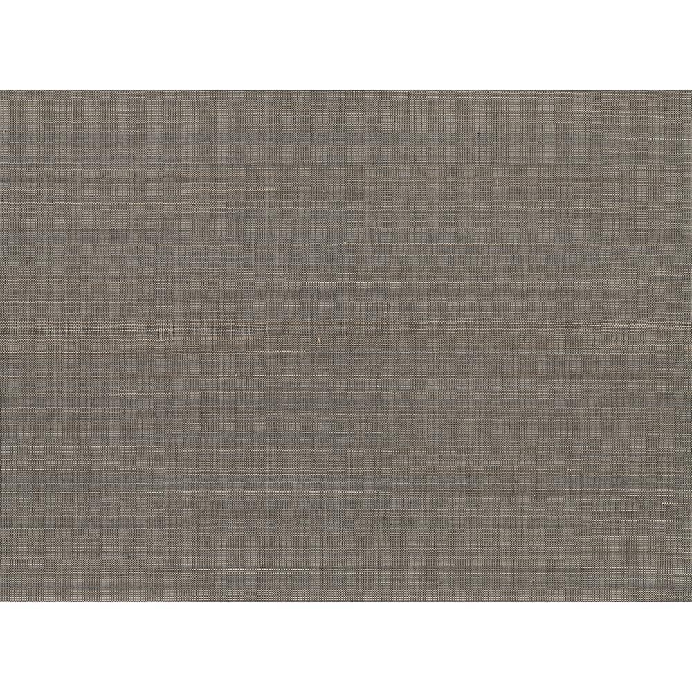 A-Street 72 sq. ft. Tiemao Brown Abaca Grasscloth Wallpaper 2829-82044