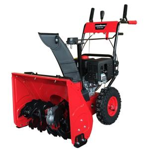PowerSmart 24 inch Two-Stage Electric Start Gas Snow Blower by PowerSmart