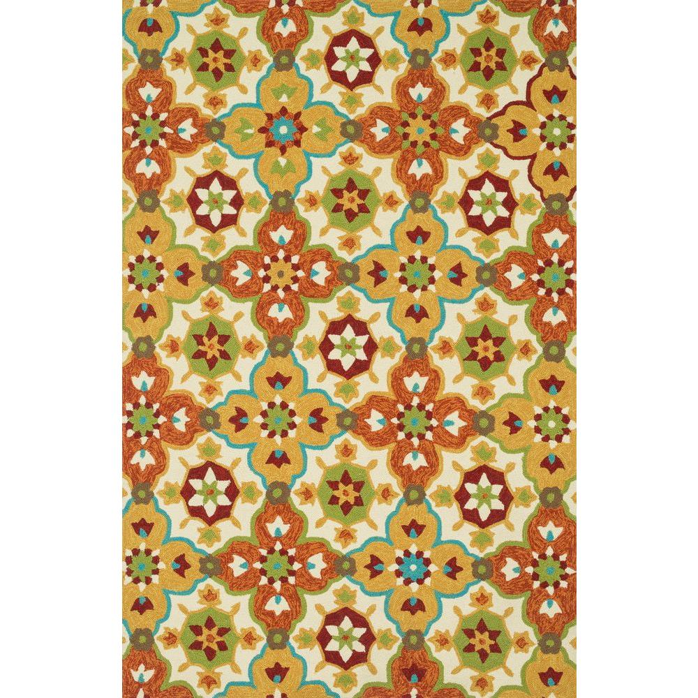 Loloi Rugs Ventura Lifestyle Collection Multi 5 ft. x 7 ft. 6 in. Area Rug