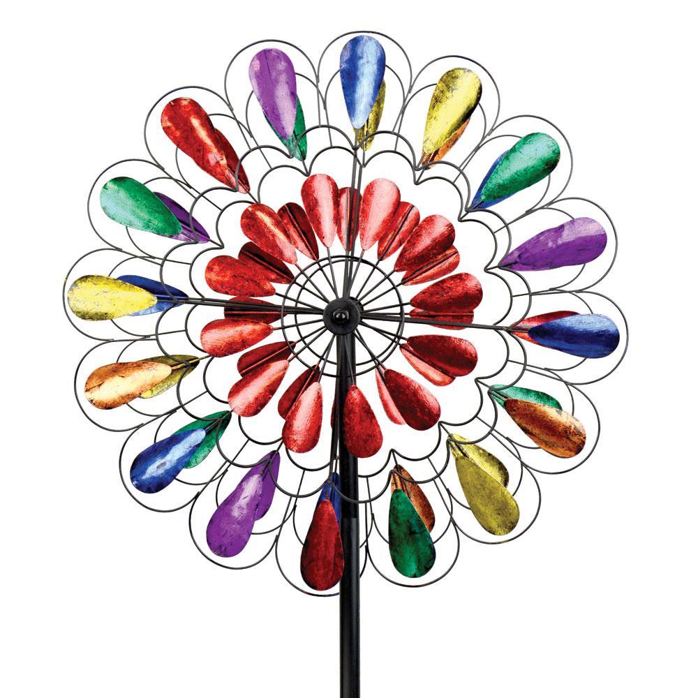 84 in. Spinner Multi Color