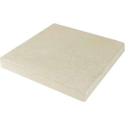 11.75 in. x 11.75 in. x 1.5 in. White Concrete Step Stone (168 Pieces / 168 Sq. ft. / Pallet)